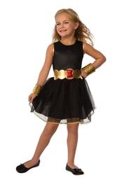 Детский костюм супергероини Черной Вдовы