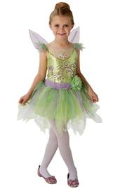 Детский костюм феи Тинкер Белл с крыльями