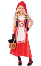 Детский костюм милой Красной Шапочки