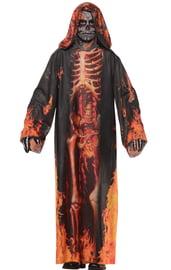 Детский костюм Горящего Скелета