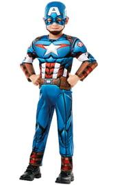 Детский костюм Капитана Америки супергероя
