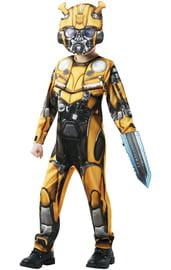 Детский костюм трансформера Бамблби с мечом
