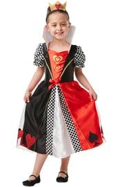 Детский костюм Королевы Сердец с короной