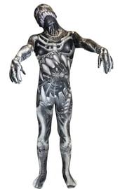Детский костюм Зентай Жуткий скелет