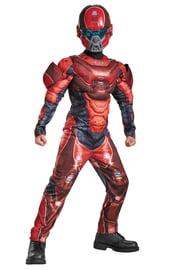 Детский костюм Красного Спартанца Хало