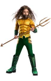 Детский костюм Аквамена Делюкс