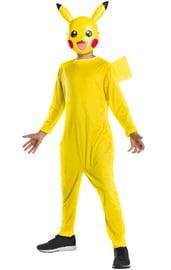 Детский костюм желтого Пикачу