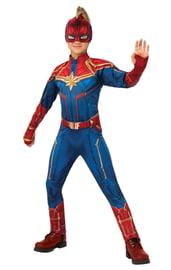 Детский классический костюм Капитана Марвел
