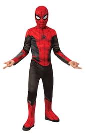 Детский костюм черно-красного Спайдермена