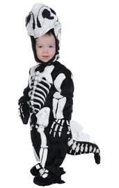 Детский костюм Скелета Стегозавра