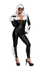 Взрослый костюм супергероини Черной Кошки