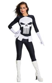 Женский костюм супергероя Карателя
