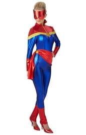Женский костюм Капитана Марвел