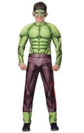 Костюм Халка с мускулами для детей