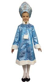 Детский костюм бирюзовой Снегурочки