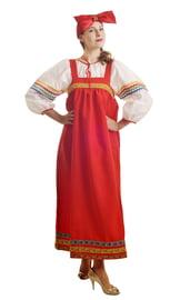 Костюм Барыни в красном