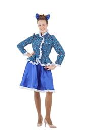 Синий костюм Казачки