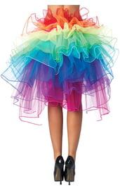 Радужная пышная юбка