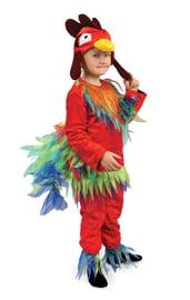 Детский костюм красного Петушка