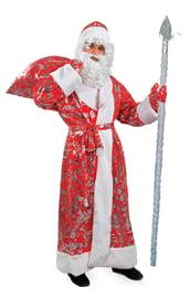 Костюм Дедушки Мороза с узорами