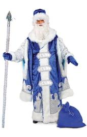 Костюм Царского Дедушки Мороза в синем
