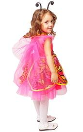 Детский костюм розовой Бабочки