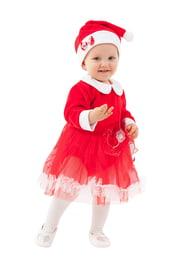 Костюм Мисс Санты для малышей