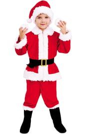 Детский костюм Санта Клауса в сапогах