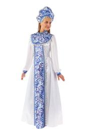 Взрослый костюм прекрасной Снегурочки