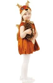 Детский костюм Белочки малышки