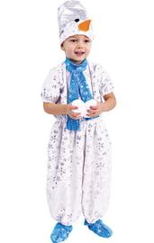 Детский костюм Снеговика в комбинезоне