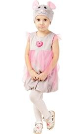 Детский костюм серо-розовой Мышки в платье