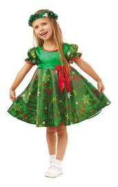 Детский костюм зеленой Елочки
