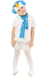 Детский костюм Снеговика с шарфом