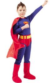 Детский костюм отважного Супермена