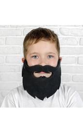 Карнавальная черная борода