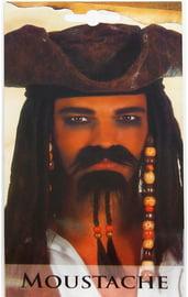 Борода пирата с усами