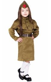 Детский костюм маленькой Солдаточки