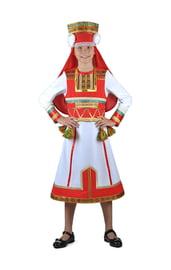 Мордовский национальный костюм для девочек
