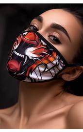 Защитная маска с принтом тигра