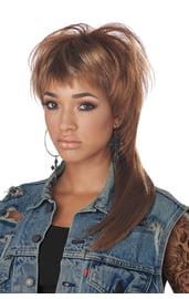 Темный кефаль парик