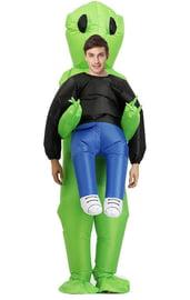 Взрослый надувной костюм Похищение пришельцем