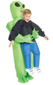 Детский надувной костюм Похищение пришельцем