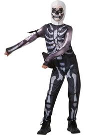 Детский костюм Скелета Фортнайт