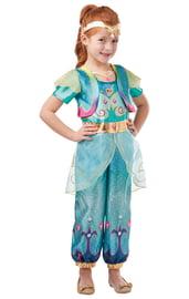Костюм прекрасной принцессы Жасмин детский