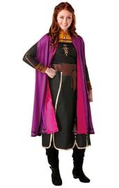 Взрослый костюм принцессы Анны из Холодного сердца