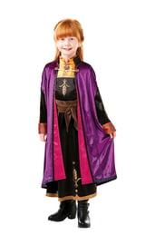 Костюм принцессы Анны для девочек