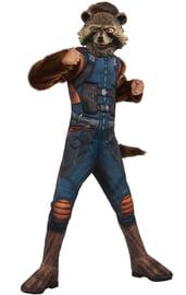 Детский костюм Реактивного Енота делюкс