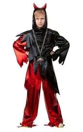 Детский костюм черно-красного Дьявола