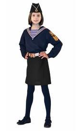 Детский костюм морячки с пилоткой